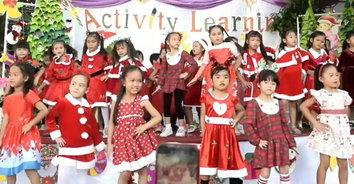 โรงเรียนอักษรพัทยาจัดกิจกรรมลดเวลาเรียนเพิ่มเวลารู้ และวันคริสต์มาส ประจำปี 2562