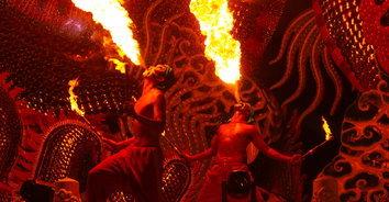 """""""อุทยานแห่งแสง แดนมังกรสวรรค์"""" เทศกาลไฟสุดสวย ของดีปากน้ำโพ"""