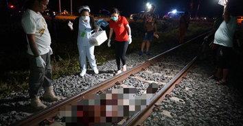 สยอง! รถไฟชนคนตาย เศษเนื้อกระจัดกระจายทั่วบริเวณ