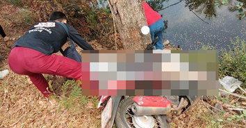 คู่รักวัยดึกขับขี่ จยย.วูบ เสียหลักชนต้นมะขามเสียชีวิตทั้งคู่