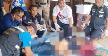 หนุ่มถูกย้ายที่ทำงาน เครียดจัดคว้าปืน 9 มม.จ่อขมับดับสลด
