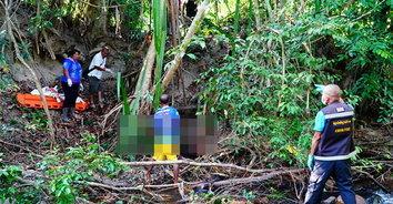 โหดจัด! พบศพหนุ่มถูกยิงทิ้งริมลำคลอง ทิ้งปริศนาหลอดบรรจุยา