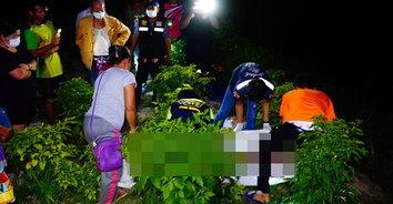 สุดสลด! ชายสู้ชีวิตออกไปทำสวนผัก หน้ามืดพลัดตกลงน้ำเสียชีวิต