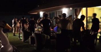 ปาร์ตี้กลางวิกฤตโควิด-19 รวบ 22 วัยรุ่นเปิดโรงแรมหรูปาร์ตี้ไม่เกรงกลัวกฎหมาย