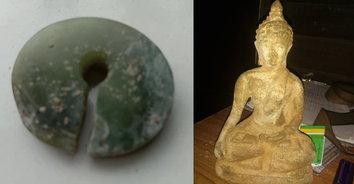ไม่รอด! ลุงไลฟ์สด ขุดกระดูก-วัตถุโบราณกว่า 3 พันปี ขายเว็บตลาดมืด