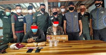 อาศัยช่วงวิกฤต! จับ 2 หนุ่มสาวซุกยาบ้าร่วมหมื่นเม็ด ส่งขายในตัวเมือง