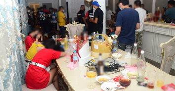 บุกทลายปาร์ตี้วันเกิดมั่วยา ไม่สน พ.ร.ก.ฉุกเฉิน จับคนไทย-ต่างชาติ 44 ราย