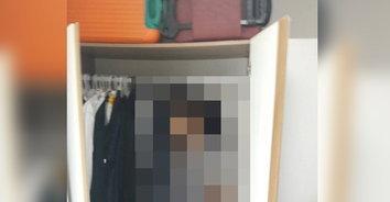 สุดเศร้า! หนุ่มใหญ่เครียดตกงาน ผูกคอตายคาตู้เสื้อผ้า