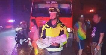 สุดเศร้า! หนูน้อยวัย 3 ขวบ เสียชีวิตในกองเพลิง หลังไฟไหม้บ้าน