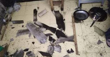 ส้วมระเบิด! ก๊าซสะสมเกิดแรงดันห้องส้วมระเบิดบึ้มบ้านพังเสียหาย