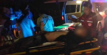 สองทหารเกณฑ์ ท้าต่อยคู่อริตัวต่อ กลับถูกยิงสวนบาดเจ็บสาหัส