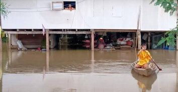 น้ำท่วมหนัก! ปราจีนบุรีอ่วมหนัก 3 อำเภอ เดือดร้อน 4,000 ครัวเรือน