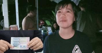ฝันว่ารถไฟไหม้ ตามเลขทะเบียน แม่ค้าปลาทูถูกหวย 12,000,000