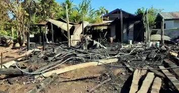 น้ำตาชาวนา! ลมหนาวพัดแรงไฟไหม้บ้านพร้อมยุ้งข้าวตาวัย 83 เสียหายกว่า 8 แสน
