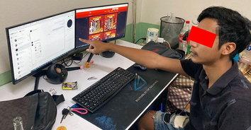 จับได้แต่ลูกกระจ๊อก! รวบแอดมินเว็บพนันออนไลน์ เงินหมุนเวียน 20,000,000