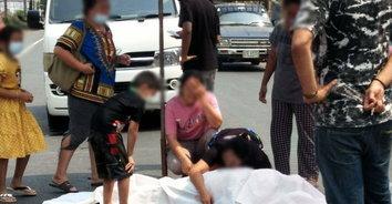 ภาพสะเทือนใจ ครอบครัวร่ำไห้ ยายถูกรถชนเสียชีวิตดับสลด
