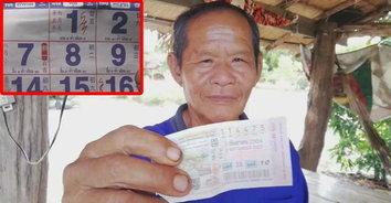 ปฎิทินให้โชค แถมใบ้งวดหน้า! ตาซื้อเลขตามปฏิทิน ถูกรางวัลที่ 1 ได้ 6,000,000