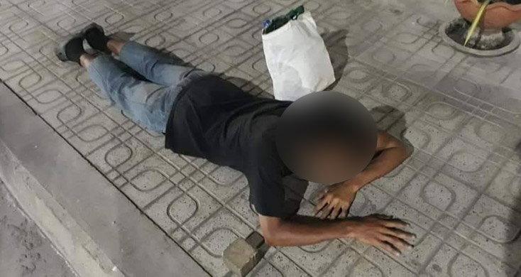 หนุ่มตกงานเครียดคว้าอิฐทุบตู้ ATM เผยตกงานไม่มีข้าวกิน อยากนอนคุก