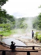 น้ำเชี่ยวในป่าปาย