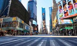 ย่านไทม์สแควร์นิวยอร์คกลายเป็นเมืองร้าง ภาพประวัติศาสตร์หลังอเมริกาปิดประเทศ