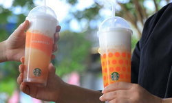 โปรโมชันจุกๆ จาก Starbucks เมนู Peach Cloud with Jelly 1 แถม 1