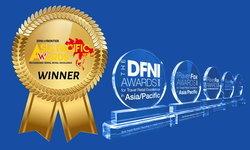 น่ายินดี! คิง เพาเวอร์ คว้า 2 รางวัลจากเวที ดีเอฟเอ็นไอ-ฟรอนเทียร์ เอเชีย แปซิฟิก อวอร์ดส