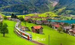 ฤดูร้อนแห่งหมู่บ้าน Lungern หมู่บ้านสวยแห่งรัฐออบวัลเดิน สวิตเซอร์แลนด์