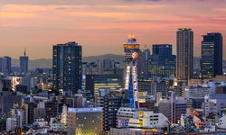 Tsutenkaku Tower หอคอยแห่งความสำเร็จ ของเมืองโอซาก้า