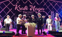 ฟังดนตรีที่ชายหาด กับ บรรยากาศสุดโรแมนติก krabi naga fest 2017