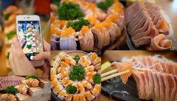 Fuku Intown บุฟเฟ่ต์ปลาแซลมอน 499 บาท Net รวมเครื่องดื่ม | Digital Gateway ชั้น 2 (สยามสแควร์)