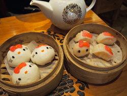 Hello Kitty Chinese Cuisine ชวนชม และชิมติ่มซำคิตตี้แห่งแรกของโลก