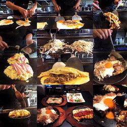 พาชิมโอโคโนมิยากิที่มีชื่อเสียงและเก่าแก่มากที่สุดในประเทศญี่ปุ่น