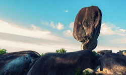 อัศจรรย์หินพัด โลเคชั่นสุดอลังการสุราษฎร์ธานี