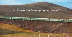 สดจากขอบความฝัน .. 25 ภาพ กับ 9 เหตุผล ที่จะทำให้คุณต้องนั่งรถไฟท่องโลกด้วยตัวเองสักครั้งในชีวิต! [สองเท้า-เกาโลก]