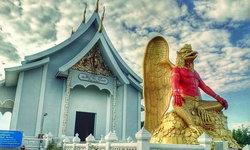 ชมพญาครุฑองค์ใหญ่หนึ่งเดียวในประเทศไทย ณ วัดประยงค์กิตติวนาราม