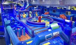 """Finn Planet The Mall Korat""  สวนสนุกบ้านลมผจญภัยที่ใหญ่ที่สุดในเมืองไทย"