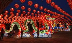 """""""เทศกาลโคมไฟ แสงสีแห่งเมืองปากน้ำ สมุทรปราการ"""" งานประดับไฟสุดอลังการใกล้กรุงเทพฯ"""