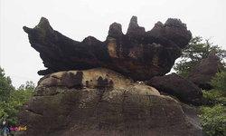ภูผาเทิบ ประติมากรรมหินธรรมชาติแห่งมุกดาหาร