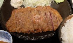 Asakusa Gyukatsu ร้านเนื้อชุบแป้งทอดชื่อดังย่านอาซากุสะ เมืองโตเกียว ประเทศญี่ปุ่น