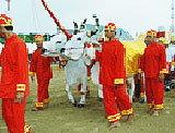 พระราชพิธีพืชมงคลจรดพระนังคัลแรกนาขวัญ ปี 2551