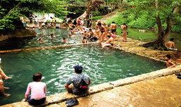 เที่ยวหน้าร้อน นอนแช่น้ำ ณ กาญจนบุรี