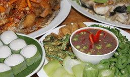ของดีละลานตา งานเที่ยวเมืองกาญจน์ อาหารอร่อย 2555