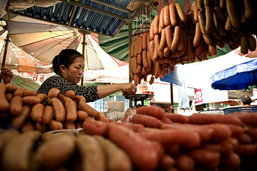 ตลาดเทศบาลสิงห์บุรี ชม ชิม ชอป สารพัดของดี