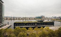 บริษัทดัทช์ทำเก๋! เปิดตัว Good Hotel โรงแรมลอยน้ำในแม่น้ำเทมส์ กรุงลอนดอน