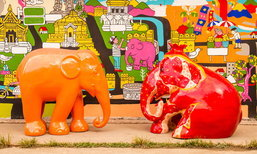 ELEPHANT PARADE เดินทางกลับถิ่นกำเนิดสู่เมืองเชียงใหม่แล้ว