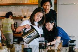 เวิร์คช็อปกาแฟที่จะทำให้กาแฟของคุณอร่อยขึ้น กับ Roots