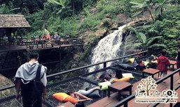 Jungle De Cafe ร้านกาแฟวิวน้ำตกสุดอลังการ นั่งชิลท่ามกลางธรรมชาติแบบฟินๆ