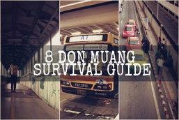 8 Don Muang Survival Guide : เอาตัวรอดแบบไม่แพง ในสนามบินดอนเมือง