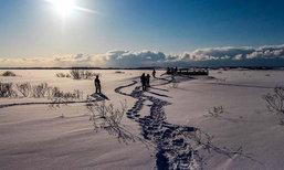เดินฝ่าป่าหิมะแห่ง Hokkaido  เพื่อไปเจอทะเลหิมะสุดมหัศจรรย์