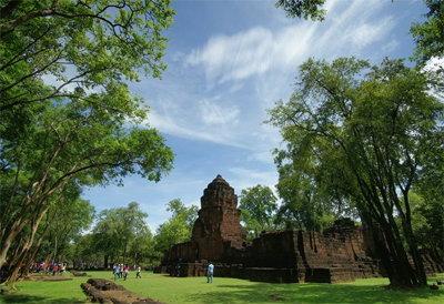 ปราสาทเมืองสิงห์ เที่ยวกาญจนบุรี